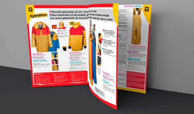 Brochure A4 fermé