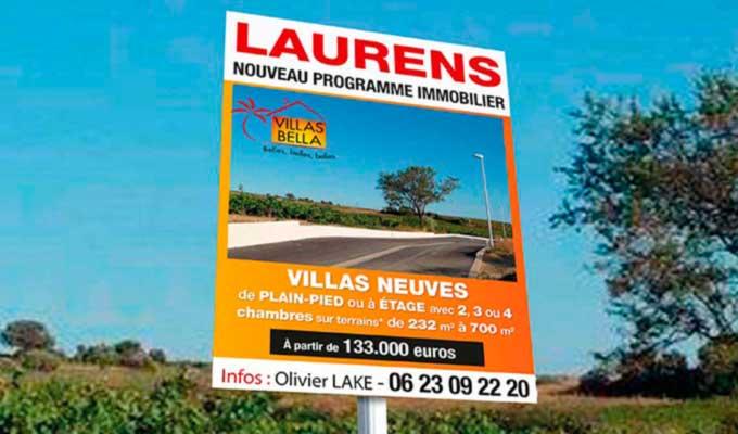 Dibond impression alu photo sur panneaux ou plaque aluminium for Pancarte publicitaire exterieur