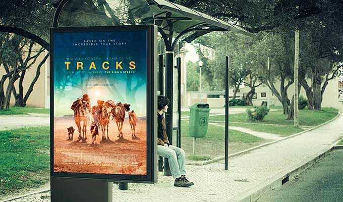 Affiche retro-eclairée caissons publicitaires