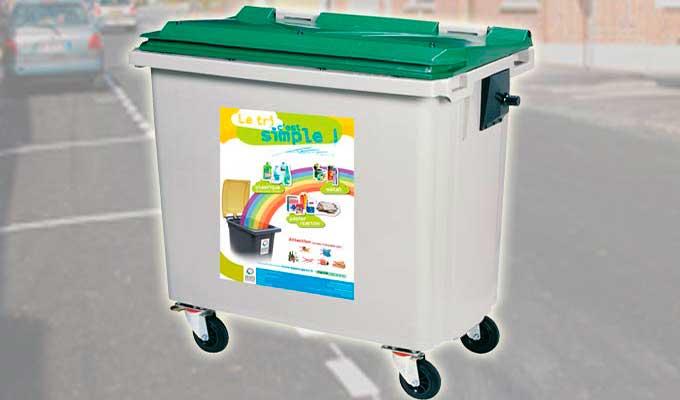 adhésif autocollant surface difficile, apolaire, pvc, poubelle...