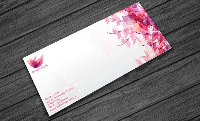 Impression en ligne de cartes de correspondance