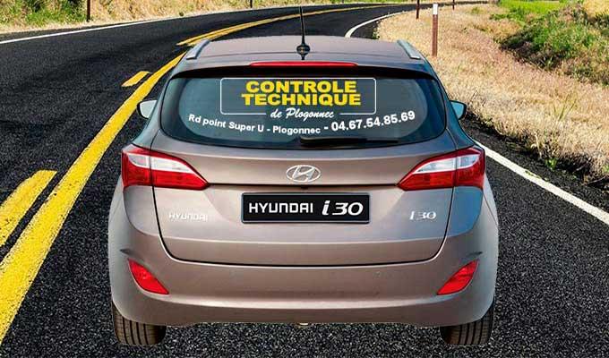 Autocollant lettrage lunette arrière voiture
