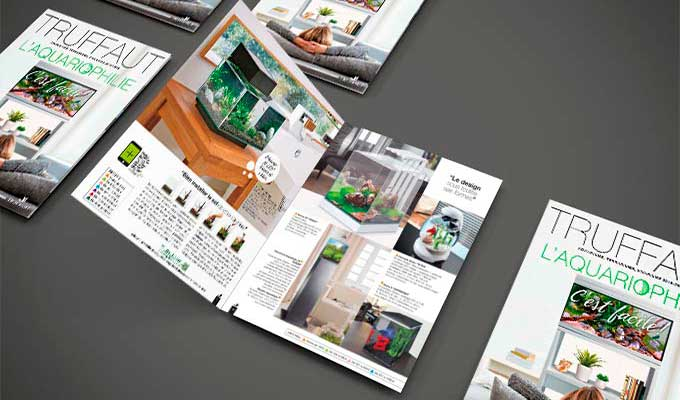 Magazine, livret, brochures, prospectus A5