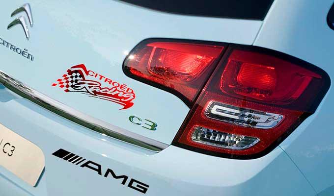 Stickers autocollants véhicule voiture publicitaire