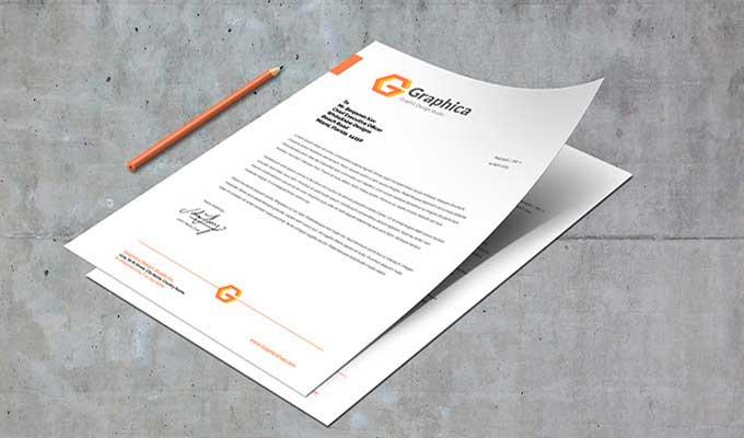 Imprimer tête de lettre A4