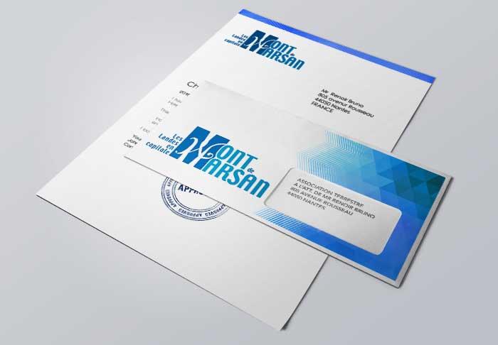 Impression en ligne d'enveloppes personnalisées professionnelles de qualité