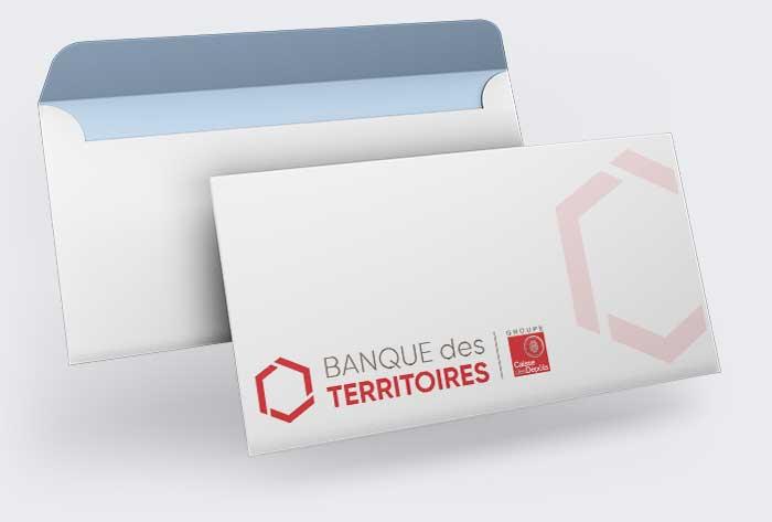Enveloppes pesonnalisées DL pour professionnels